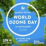 International Day for the Preservation of the Ozone Layer: 16 September