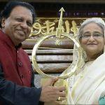 Bangladesh PM receives Dr Kalam Smriti International Excellence Award