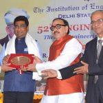 V K Yadav, Chairman of Railway Board awarded with Eminent Engineers Award