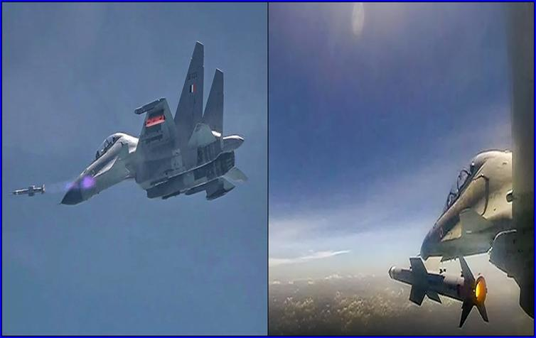 India successfully flight-tested indigenous air-to-air missile Astra_40.1