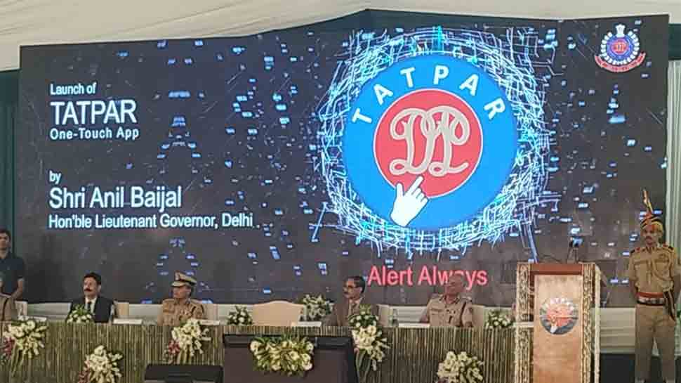 Delhi Police's launches Tatpar app for citizen-centric services_40.1