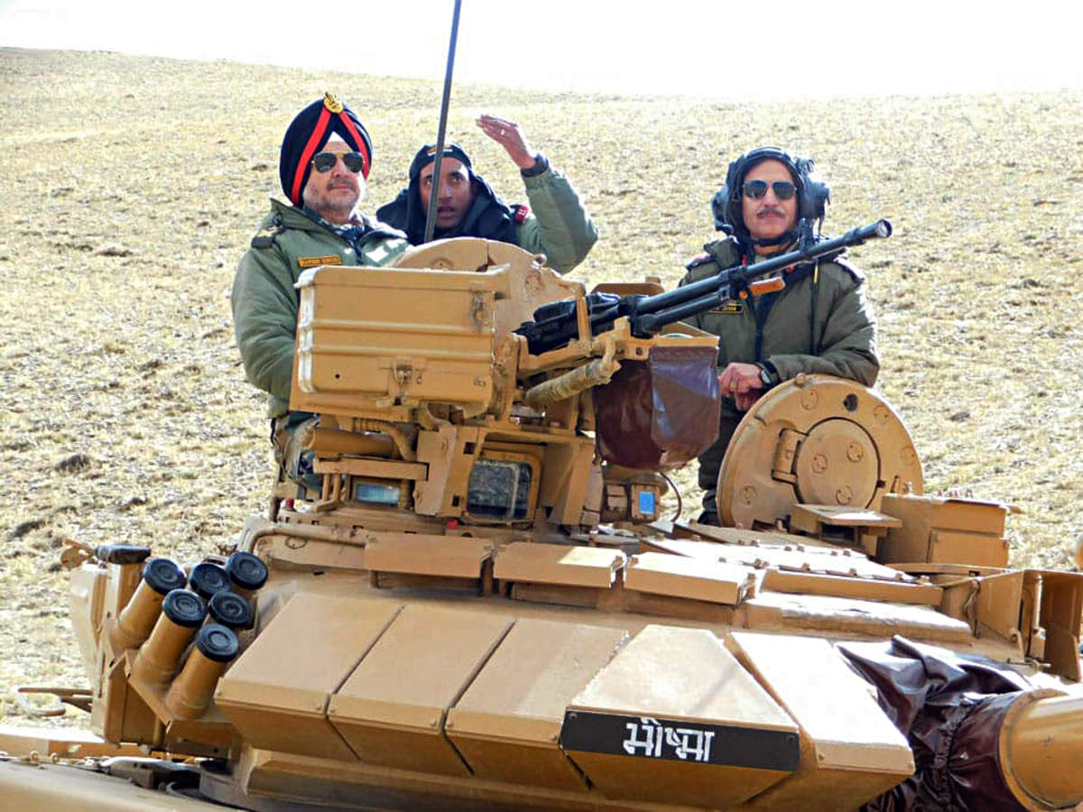Indian army conducts exercise 'Chang Thang' in Eastern Ladakh_40.1