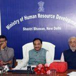 Union HRD Minister Ramesh Pokhriyal 'Nishank launches WAWE Summit 2019