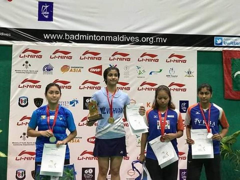 Malvika Bansod wins the Maldives International Future Series_40.1