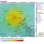 Earthquake strikes in Pakistan & India (J&K) Border region