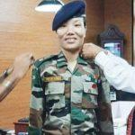 Ponung Doming becomes Arunachal's first woman Lieutenant Colonel