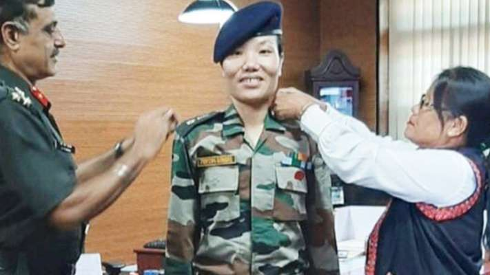 Ponung Doming becomes Arunachal's first woman Lieutenant Colonel_40.1