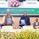 President Ram Nath Kovind inaugurates India Water Week, 2019