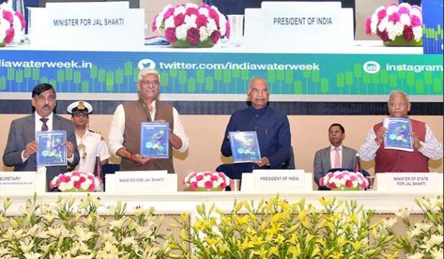 President Ram Nath Kovind inaugurates India Water Week, 2019_40.1