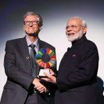 PM Narendra Modi receives Global Goalkeeper Award
