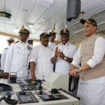 ICGS 'Varaha' commissioned by Defense Minister Rajnath Singh