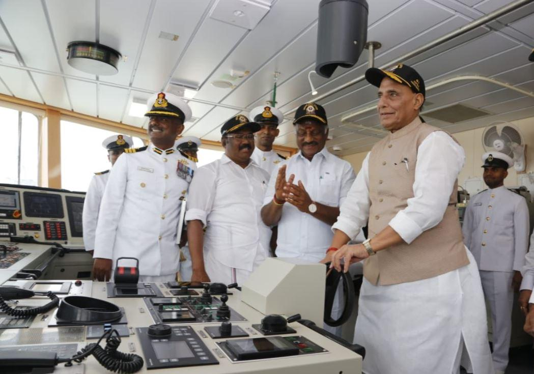 ICGS 'Varaha' commissioned by Defense Minister Rajnath Singh_40.1