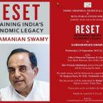 Pranab Mukherjee launches the book titled 'Reset: Regaining India's Economic Legacy'