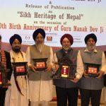 Nepal Rastra Bank issues commemorative coins on 550th Birth Anniversary of Guru Nanak Dev