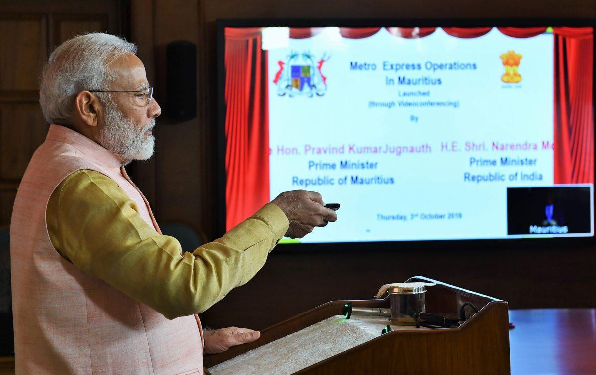 PM of India & Mauritius jointly inaugurated projects in Mauritius_40.1