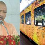 India's first private train Lucknow-Delhi Tejas Express flagged off