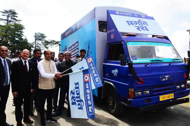 HP Chief Minister Jai Ram Thakur launched the Pragati Rath of the HDFC bank_40.1