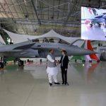 India receives 1st Rafale fighter jet built for Indian Air Force