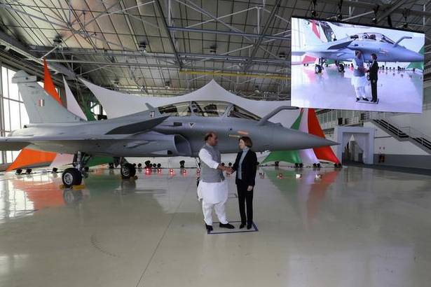 India receives 1st Rafale fighter jet built for Indian Air Force_40.1