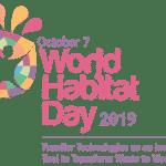 World Habitat Day: 7 October