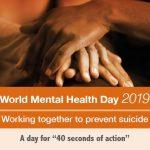 World Mental Health Day: 10 October