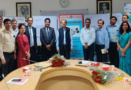 GeM signs MOU with Union Bank of India_40.1
