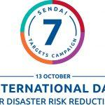 International Day for Disaster Risk Reduction: 13 October