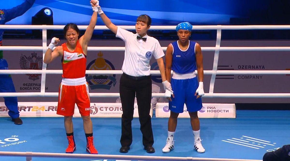 M C Mary Kom wins bronze in World Women's Boxing Championships_40.1