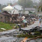 Typhoon Hagibis strikes northern Japan