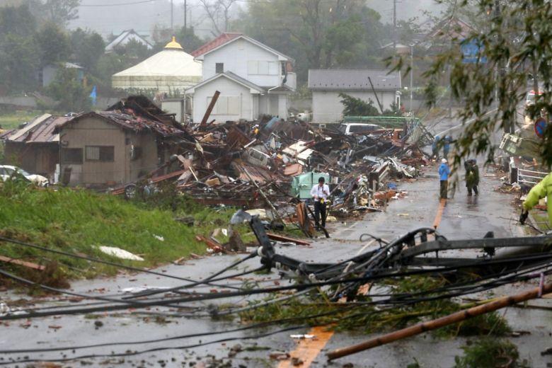Typhoon Hagibis hits northern Japan_40.1