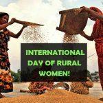 International Day of Rural Women: 15 October