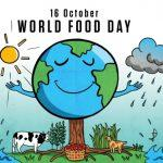World Food Day: 16 October