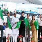 Railways Minister Piyush Goyal flagged off 9 'Sewa Service' trains