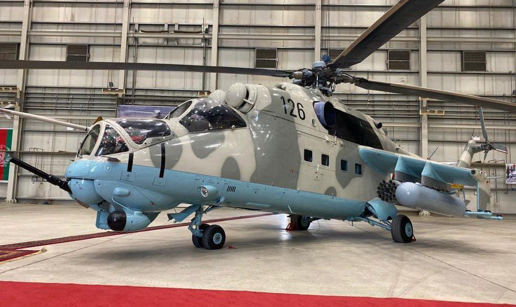 India hands over 2nd pair of Mi-24V helicopters to Afghan Air forces_40.1