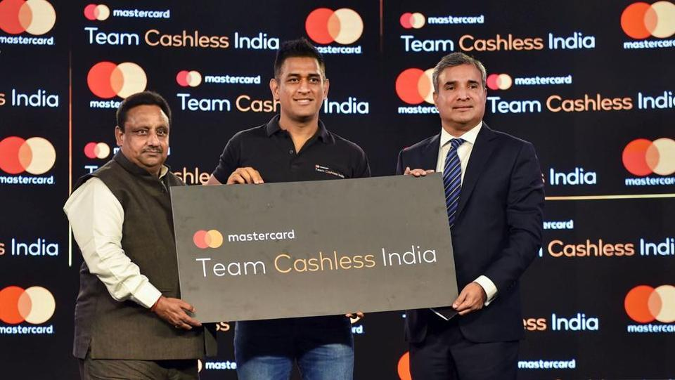 Mastercard and MS Dhoni partner to build 'Team Cashless India'_40.1