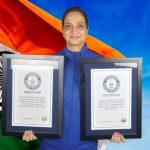 Kiran Uniyal, w/o a serving Colonel of Indian Army sets Guinness World Records