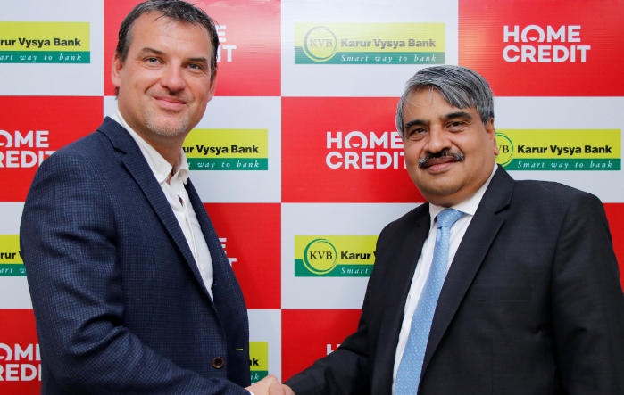 Home Credit India join hand with Karur Vysya Bank for joint lending_40.1