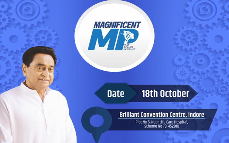 "CM Kamal Nath inaugurates ""Magnificent Madhya Pradesh Conference""_40.1"