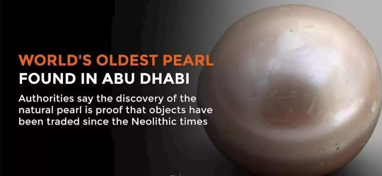 World's oldest pearl 'Abu Dhabi Pearl' discovered on Abu Dhabi Island_40.1
