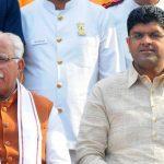 Manohar Lal Khattar sworn in as CM of Haryana for a second term