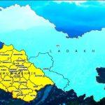 Govt releases maps of newly-created UTs of Jammu and Kashmir, Ladakh