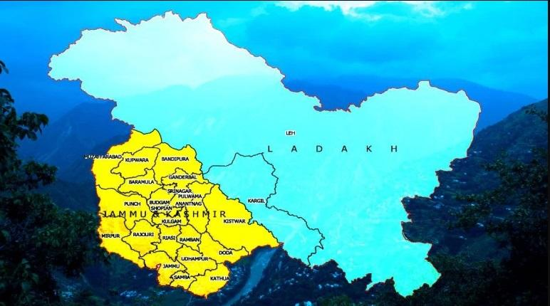 Govt releases maps of newly-created UTs of Jammu and Kashmir, Ladakh_40.1
