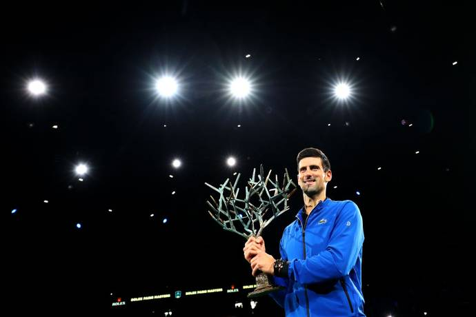 Novak Djokovic won the Paris Masters 2019 title_40.1