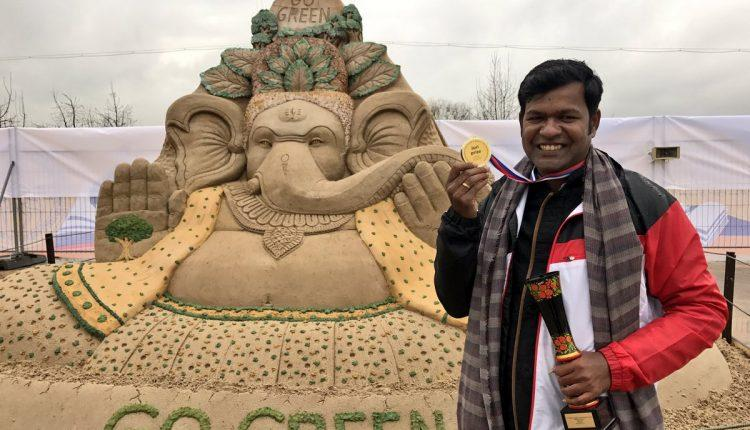 Sudarsan Pattnaik selected for Italian Golden Sand Art Award_40.1