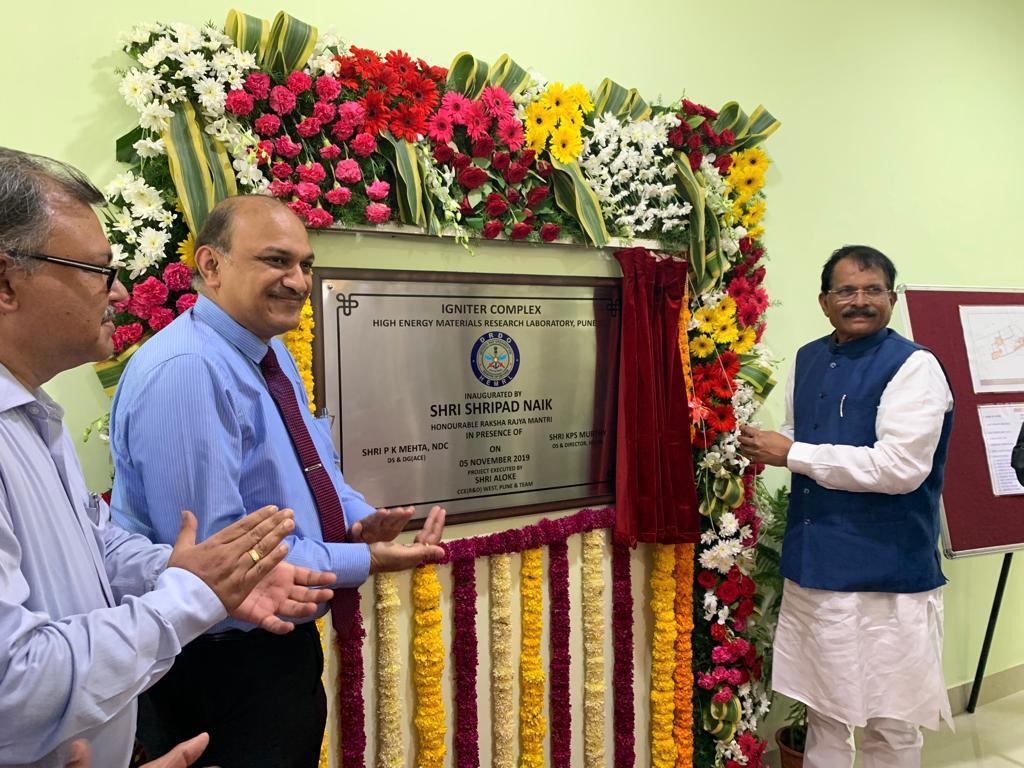 Shripad Naik inaugurates DRDO's Igniter Complex at HEMRL, Pune_40.1