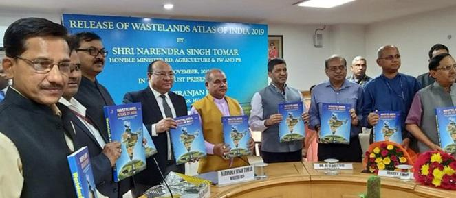 Agriculture Minister releases 5th edition of Wastelands Atlas 2019_40.1