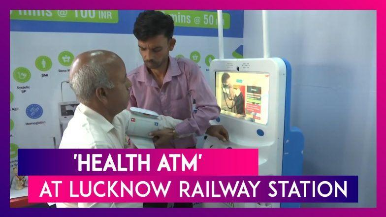 Lucknow railway station gets 'Health ATM'_40.1