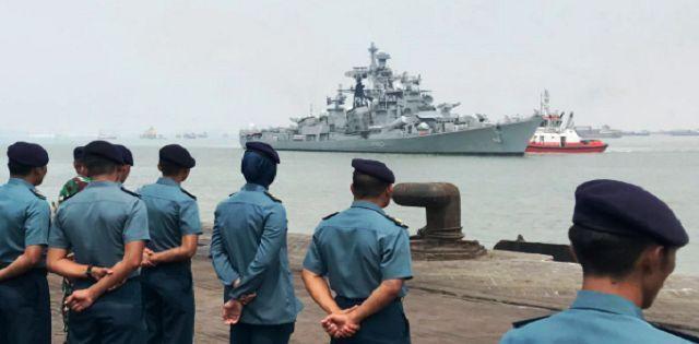 Indian Navy, Indonesian Navy bilateral maritime exercise 'Samudra Shakti_40.1