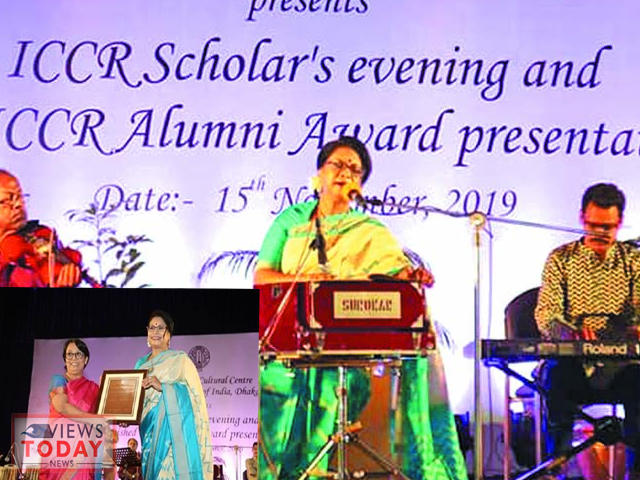 Rezwana Choudhury Bannya gets ICCR Alumni award in Dhaka_40.1