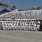 1st Indo-Qatari joint Naval Exercise Za'ir-Al-Bahr begins in Doha, Qatar